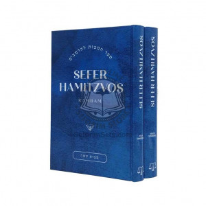 Sefer Hamitzvos Of The Rambam Linear Edition