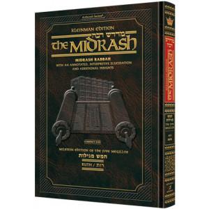 Kleinman Edition Midrash Rabbah Compact Size: Megillas Ruth