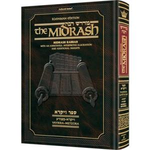 Kleinman Ed Midrash Rabbah: Vayikra Vol 1 Parshiyos Vayikra - Metzora